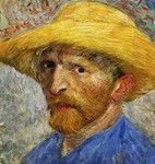 Self-Portrait With Straw Hat Wikicommons