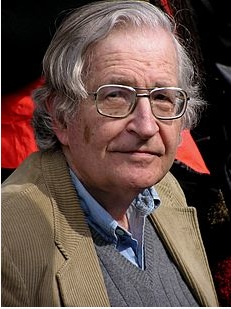 Avram Noam Chomsky. Photo Wikipedia.