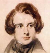 Charles Dickens as a young man. Photo-Dickens Fellowship