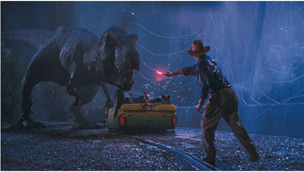 Scene from Jurassic Park 3-D. Credit- Universal City Studios, Inc. & Amblin Entertainment, Inc.
