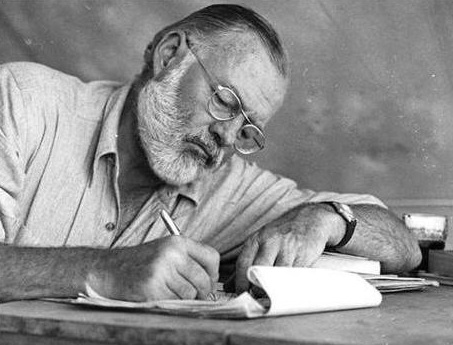 Ernest Hemingway. Photos: The Hemingway Project.