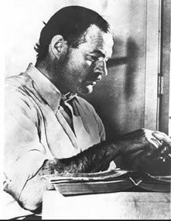 Ernest Hemingway. Photo: The Hemingway Project