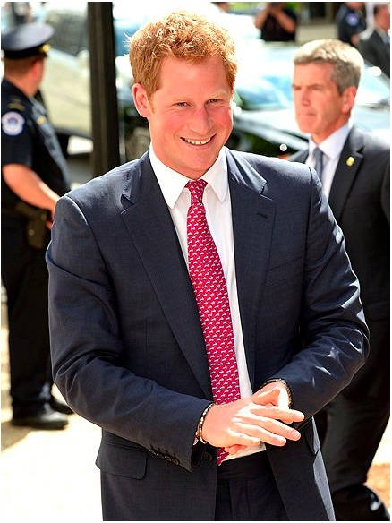His Royal Highness Prince Harry. Photo US Today.