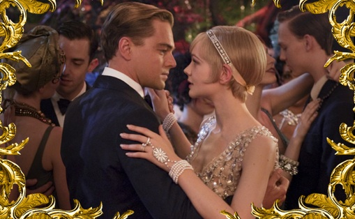 Leonardo diCaprio and Carey Mulligan in The Great Gatsby. Photo AdR Factory.