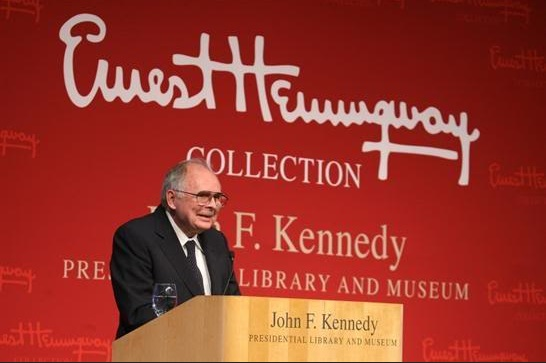 Patrick Hemingway at PEN 2009. Photo JFK Library.