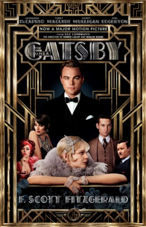 The latest cover for the Great Gatsby. Photo Flicks and Bits.