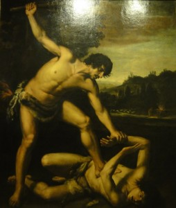 Giuseppe Vermiglio, Cain and Abel, early 17th century.