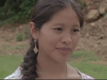 "Actress from ""Baktún"" Photo- Huffington Post."