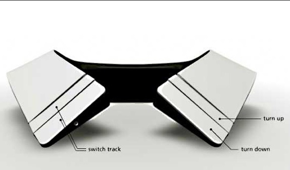 Collar concept called the Music For Deaf People by German designer Frederik Podzuweit . Photo- Magnetic.