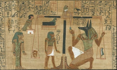 Egyptian journey to the afterlife. Photo; The Guardian.