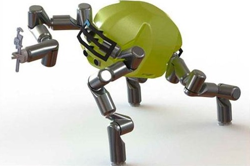 NASA's RoboSimian. Photo PCmag.