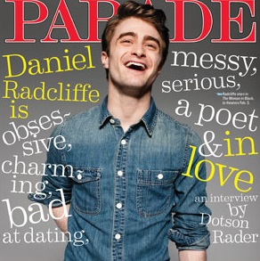 Daniel Radcliff. Photo- Just Jared.
