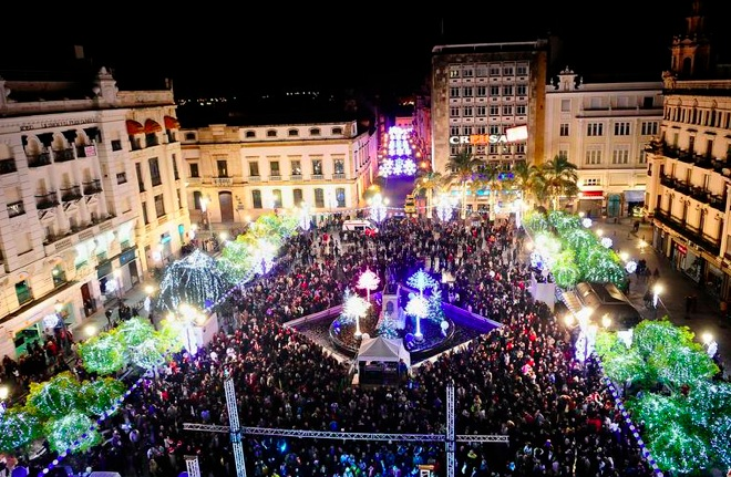 New Year Celebration, Tendillas Square, Spain.