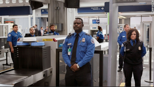 TSA officers observe facial and body gestures. CNN.