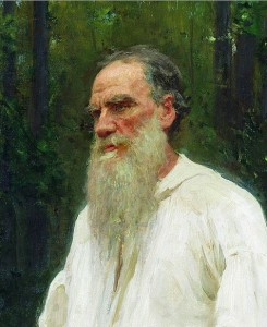 Leo Tolstoy. Credit- Open Culture.