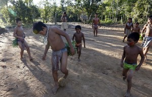 The Tatuyo tribe's village is located in the jungles just northwest of Manaus. Credit David Lazar. The Daily Mail.