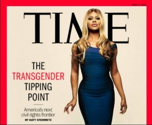 Laverne Cox's TIME cover photo. LGBT.