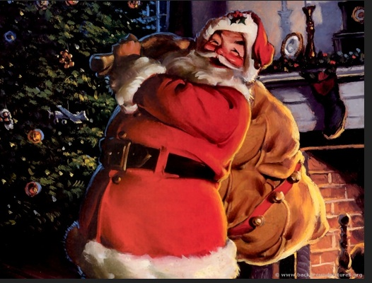 Santa. Photo- Pooh's Adventures Wiki