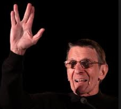 The Vulcan  Blessing: Live Long and Prosper.