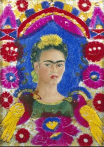 Frida Kahlo-Self-Portrait 1930.