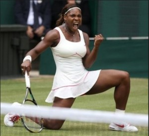 Serena: mental toughness. Photo.- Wimbledon al.comtiff