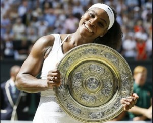 Serena wins Wimbledon 2015. Photo al.com
