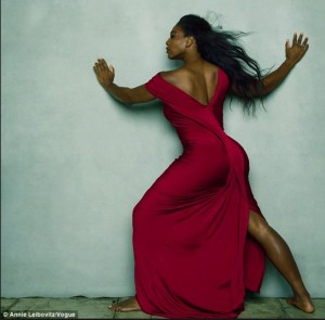 Serena. Photo- Annie Leibovitz-Vogue