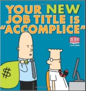 Credit- A Dilbert Book (Dilbert Collections) Amazon