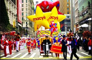 Macy's Thanksgiving Day Parade.