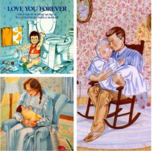 Pictures from I'll Love You Forever, by Robert Munsch