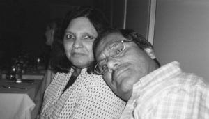 Aziz Ansari's parents.
