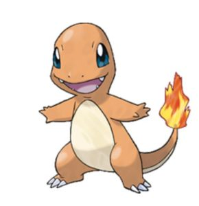 Charmander is a Fire type Pokémon.