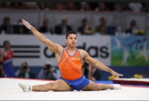 Jeffrey Wammes is a Dutch gymnast.