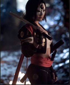 Katana, the beautiful slashing ninja