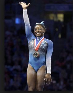 Simone Biles Olypic Champion. Photo- People Magazine